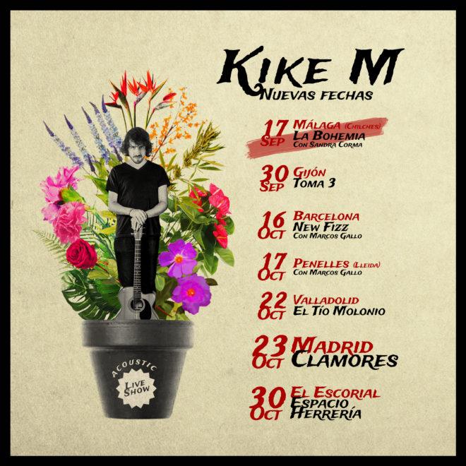 Próximos conciertos de Kike M