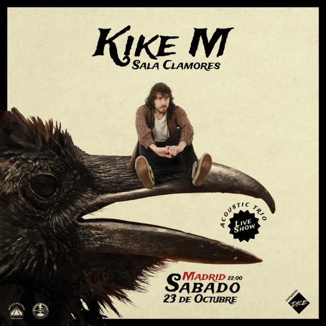 Kike M en la sala Clamores de Madrid